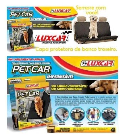 Capa protetora para banco traseiro Pet&car