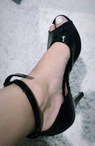 Sandália Preta. Di Santini - Foto 3