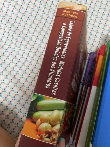Tabela de equivalentes,  medidas caseiras e composição quimica dos alimentos - Foto 2