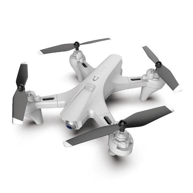 Drone Quadricóptero Rc Dobrável Com 4k Dual Hd Com Câmera Óptica Follow R$ 350,00 - Foto 2