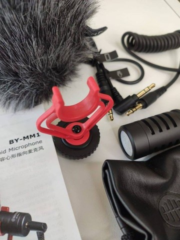 Mini Microfone Cardioide De Metal Boya BY-MM1 - Foto 2
