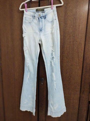 Calça jeans 38 - Foto 3
