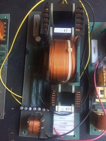 Dóis divisores de frequência monitor Staner Stage 212T, crossover passivo - Foto 2