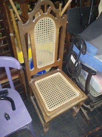 Cadeiras antigas lote - Foto 3