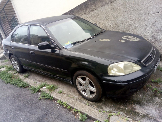 Honda Civic LX, 2000 - Foto 3