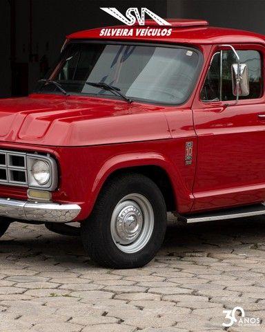 Chevrolet C10 Diesel - Ano: 1974 - Raridade - Foto 2