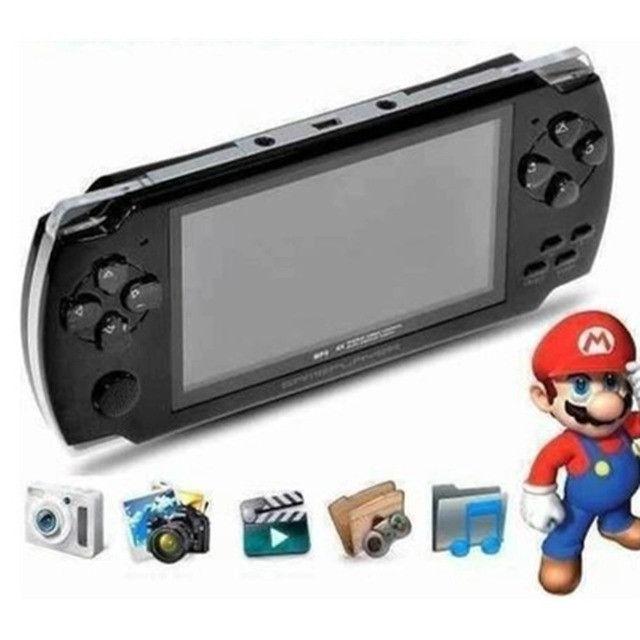 Video Game Portátil Vários Jogos Nintendo Mp3 - 8317 - Foto 4