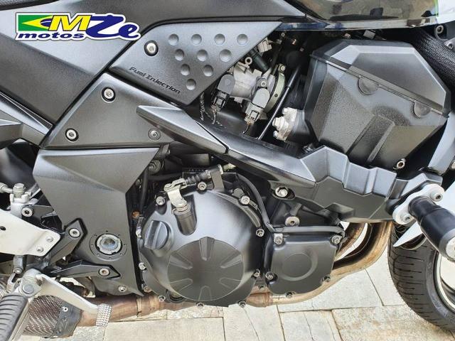 Kawasaki Z 750 2010 Branca com 64.000 km - Foto 14