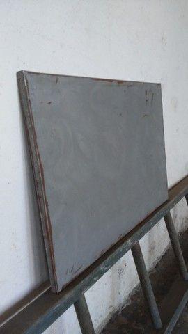 Mural aço 0,70 x 0,30