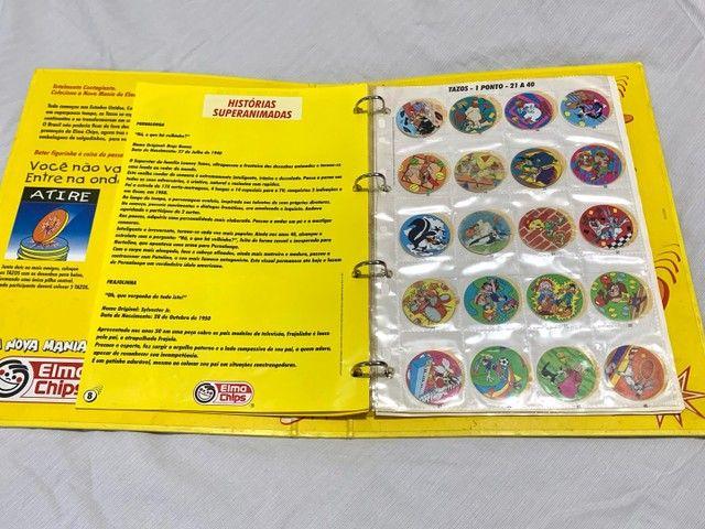 Álbum Livro Ilustrado Tazos Elma Chips - Foto 3