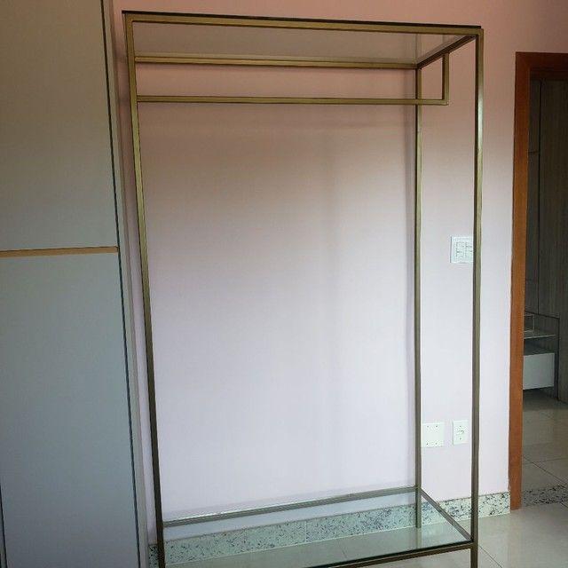 Arara metalon e vidro - Foto 3