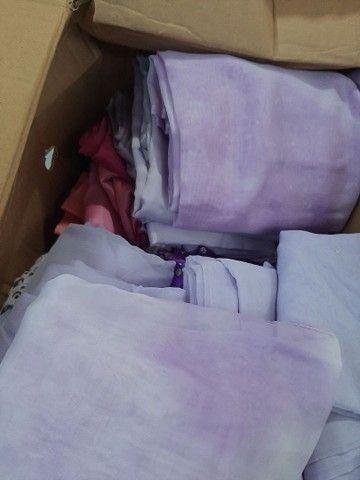 Vende.se   tecidos pra decoração (failete.cetim e malha) - Foto 5