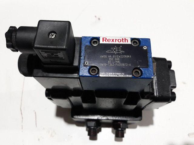 Válvula Direcional Rexroth +Bloco monofodio para Máquinas e Equipamentos hidráulicos  - Foto 4