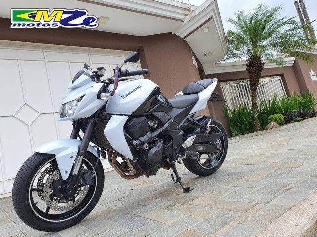 Kawasaki Z 750 2010 Branca com 64.000 km - Foto 3