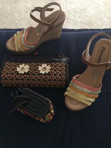 Sandália e bolsa  - Foto 2