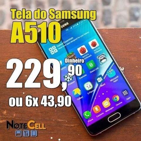 Tela / Display em LCD para Samsung A510 - Instalação em 30 Minutos!