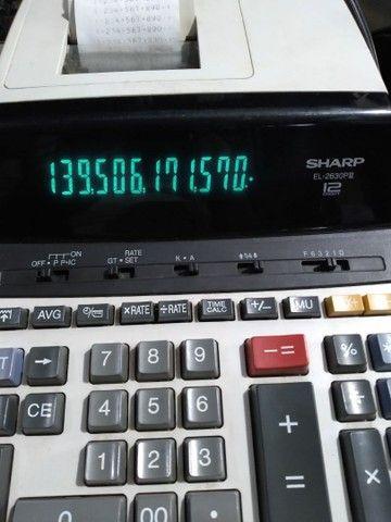 Calculadora 14 dígitos Sharp