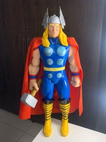 Boneco Thor Premium  Gigante vingadores 55 cm Colecionador  NOVO