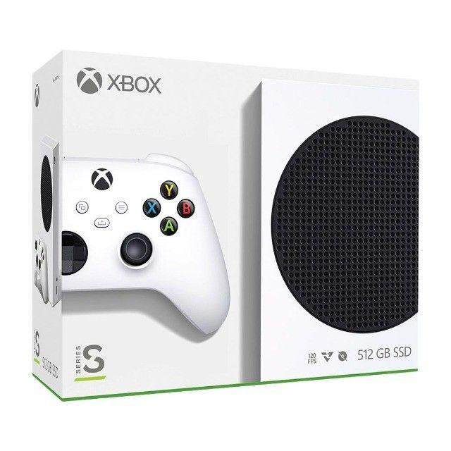 Xbox Series S 500GB Branco Novo/Lacrado! Com Nota Fiscal Garantia De 1 Ano