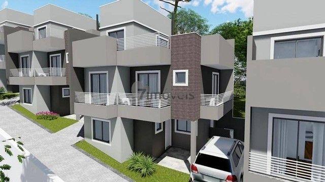 Sobrado a venda tem 151m² com 3 quartos em Campo Comprido - Curitiba - PR - Foto 2
