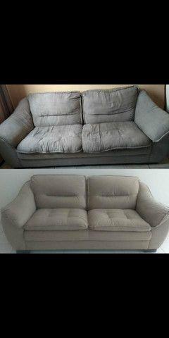 Restauração e reforma geral de sofa - Foto 6