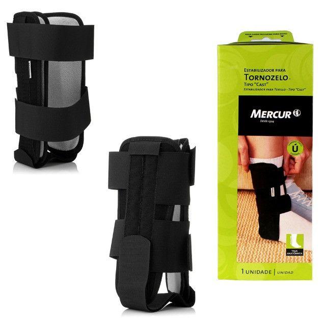 Estabilizador Ortopédico Para Tornozelo Tipo Cast Mercur - Tamanho único ajustável - Foto 3