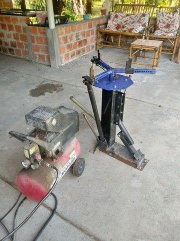 Maquina manual desmontar pneu - Foto 3
