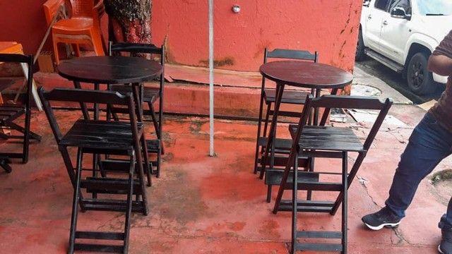 Mesas e cadeiras bistrô  - Foto 3