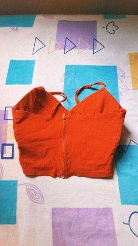 Cropped laranja? - Foto 2