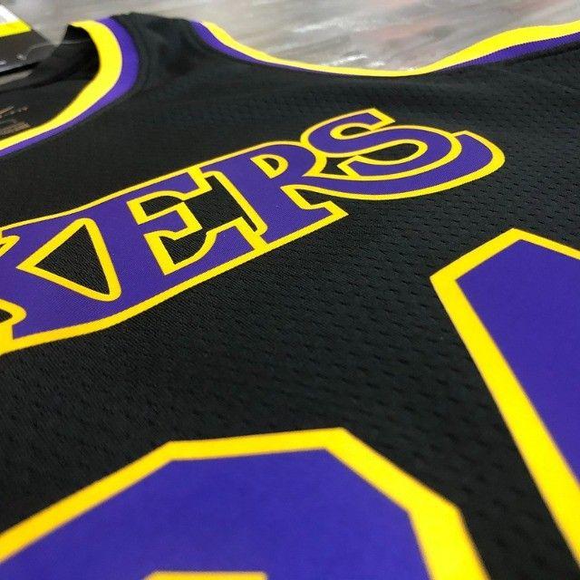 Los Angeles Lakers Kobe Bryant Versão Jogador - Foto 3