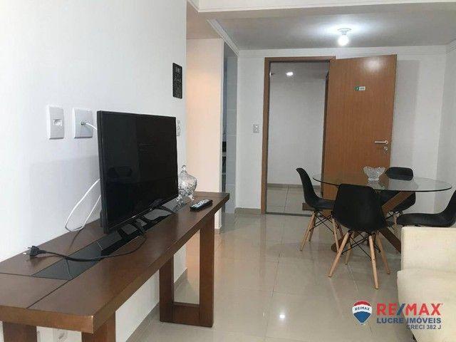 Apartamento com 1 dormitório para alugar, 39 m² por R$ 1.900,00/mês - Cabo Branco - João P - Foto 7