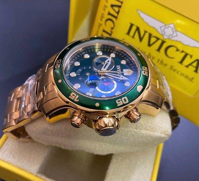 Relogio invicta pro diver 075 original  - Foto 3