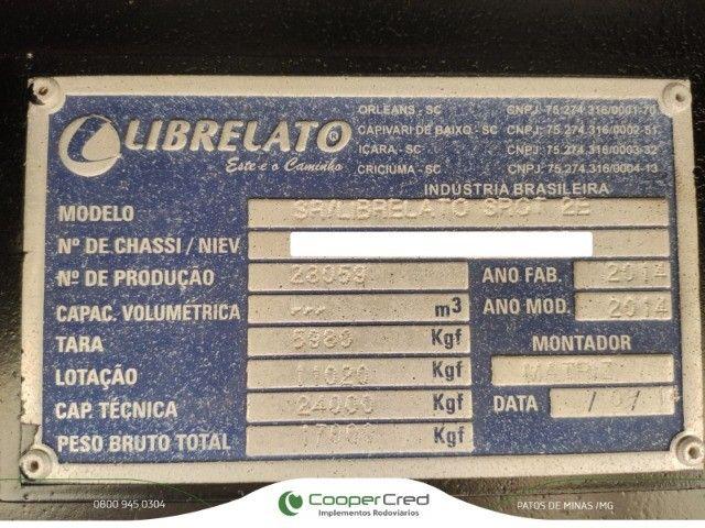 Bitrem Graneleiro Librelato 14/14 Medida 7,50 x 1,80 Sem pneus  - Foto 9