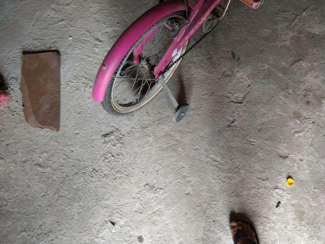 Bicicleta rosa  - Foto 2