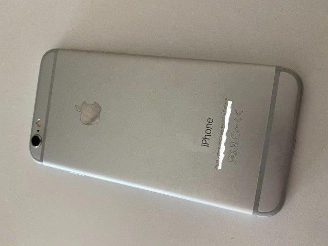 iPhone 6 64gb branco e prata usado - Foto 2