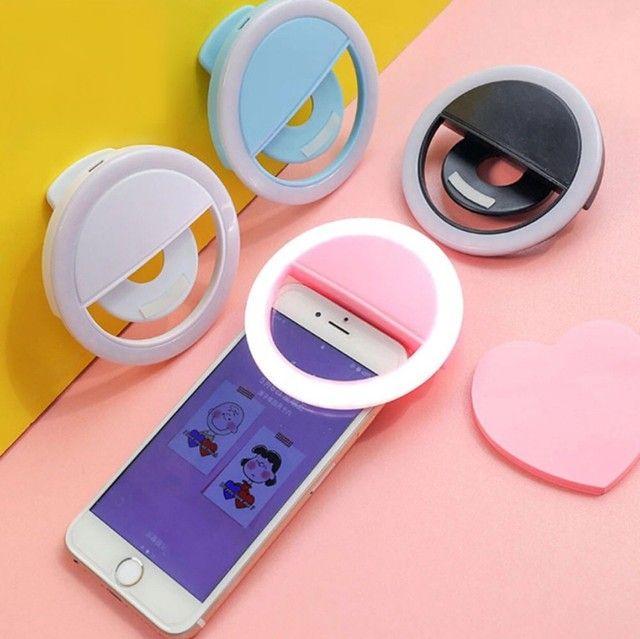 Ring Light Luz Pra Selfie E Fotos Flash Celular
