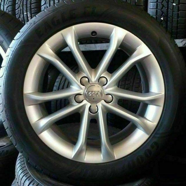 Rodas aro 18x7,5 Originais Audi