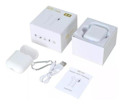 Fone De Ouvido AirPods I9s Tws Bluetooth 5.0 Sem Fio Entrega Grátis em Campinas - SP - Foto 3