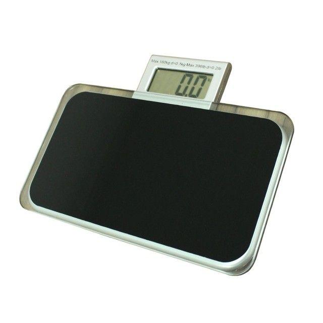 Balança Corporal Digital Vidro Temperado Preta Até 180kg,NOVA/ACEITO TROCAS - Foto 2