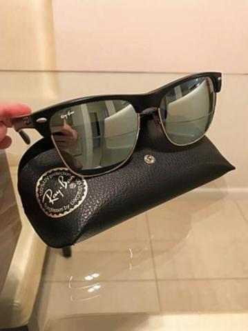 68e9695ea3fdf ... release date Óculos de sol ray ban clubmaster espelhado 692c9 f6d46