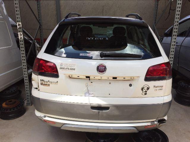 Peças usadas Fiat Palio Weekend Treking 2015 2016 1.6 16v flex 117cv câmbio manual