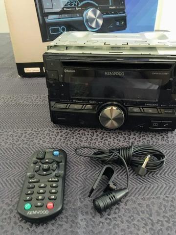 Rádio de carro - Cd/mp3/usb/bluetooth - Kenwood Dpx500bt (2 Din)
