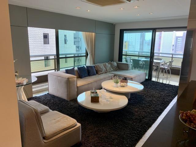 Apartamento para venda com 217 metros quadrados com 4 quartos em Meireles - Fortaleza - CE - Foto 5