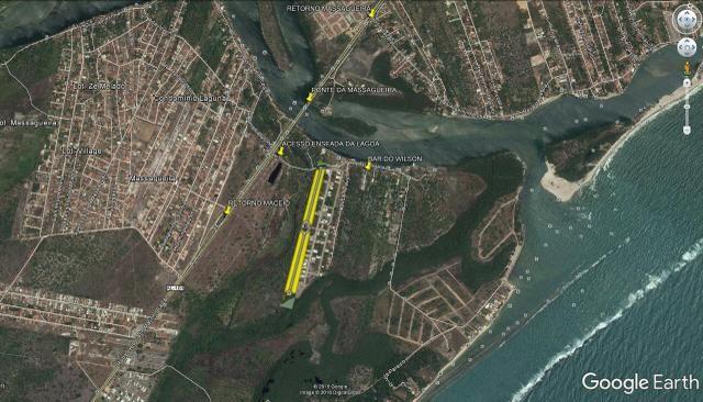 OPORTUNIDADE Terreno Enseada da Lagoa 18x25 450 mts Nascente - Abaixo da Tabela - Foto 7