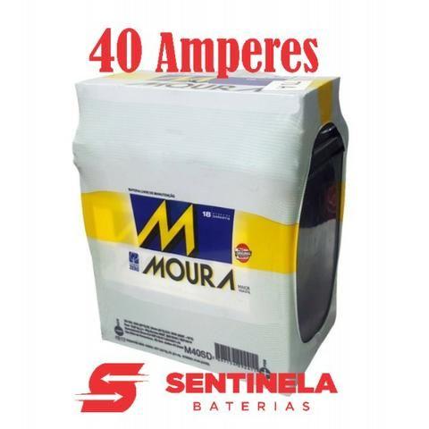 Bateria Moura 40 Amperes - Veiculos Honda