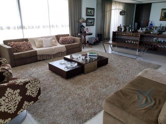 Apartamento alto padrão para alugar, 550 m² por r$ 20.000/mês - meireles - fortaleza/ce - Foto 5