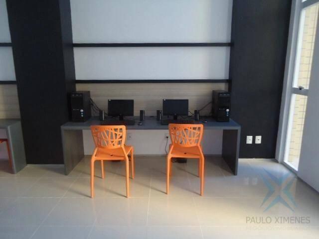 Apartamento com 3 dormitórios à venda, 74 m² por r$ 410.000,00 - cambeba - fortaleza/ce - Foto 18
