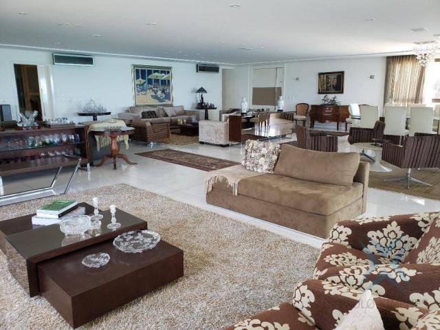 Apartamento alto padrão para alugar, 550 m² por r$ 20.000/mês - meireles - fortaleza/ce - Foto 6