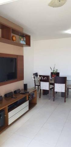 Apartamento com 2 dormitórios à venda, 69 m² por r$ 299.000,00 - setor pedro ludovico - go - Foto 3