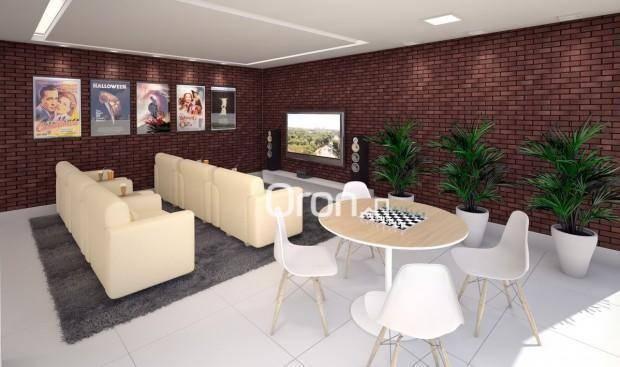 Apartamento com 3 dormitórios à venda, 154 m² por R$ 981.000,00 - Alto da Glória - Goiânia - Foto 10